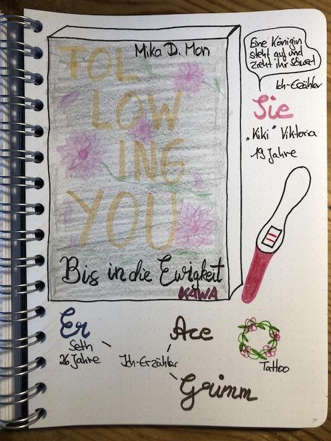 Following You 3 von Mika D Mon Sketchnote zum Buch