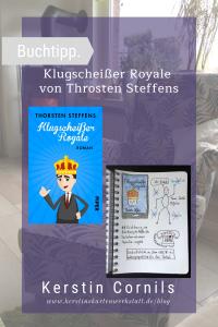 Klugscheißer Royale von Throsten Steffens Sketchnote zum Buch