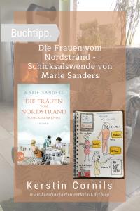 Die Frauen vom Nordstrand Schicksalswende von Marie Sanders Sketchnote und Rezension zum Buch von Kerstins Kartenwerkstatt