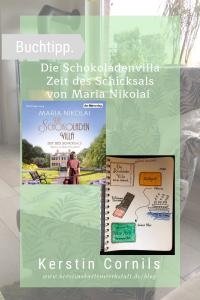 Die Schokoladenvilla Zeit des Schicksals von Maria Nikolai Sketchnote zum Buch