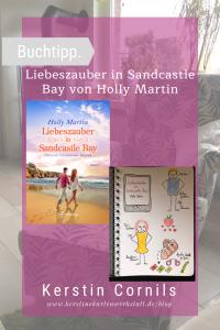Liebeszauber in Sandcastle Bay von Holly Martin Sketchnote zum Buch