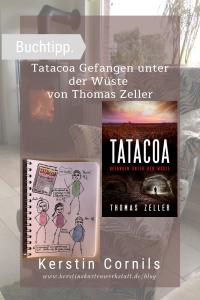 Tatacoa Gefangen unter der Wüste von Thomas Zeller Sketchnote und Rezension zum Buch von Kerstin Cornils