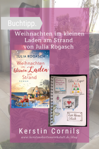 Weihnachten im kleinen Laden am Strand von Julia Rogasch Sketchnote zum Buch