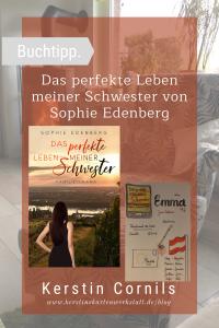 Das perfekte Leben meiner Schwester von Sophie Edenberg Sketchnote und Rezension zum Buch von Kerstin Cornils
