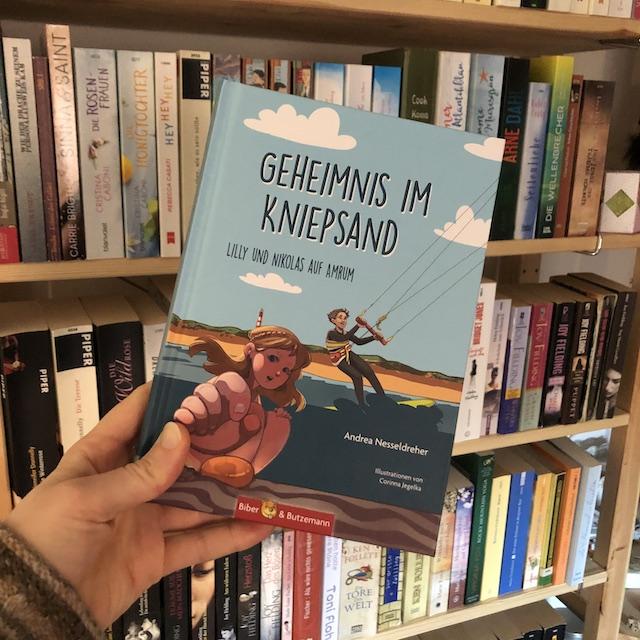 Geheimnis im Kniepsand von Andrea Nesseldreher Buchfoto