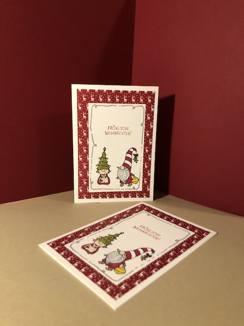 Weihnachtskarten 2020 Weihnachtswichtel