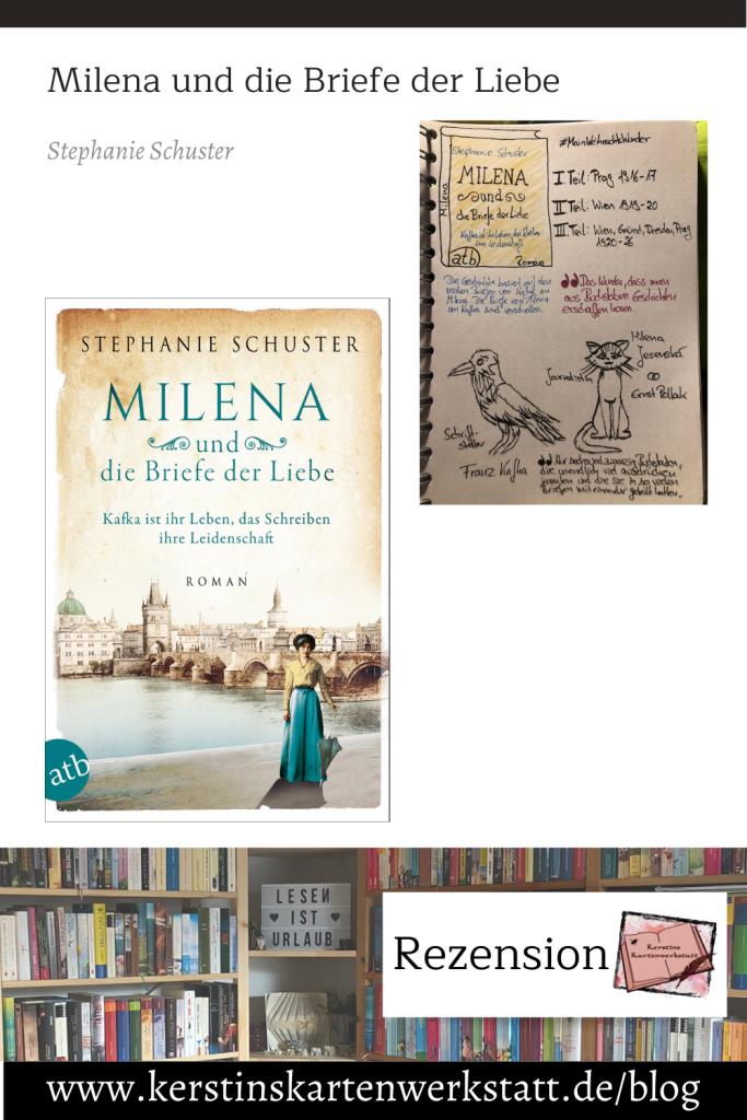 Milena und die Briefe der Liebe von Stephanie Schuster Sketchnote und Rezension zum Buch von Kerstin Cornils
