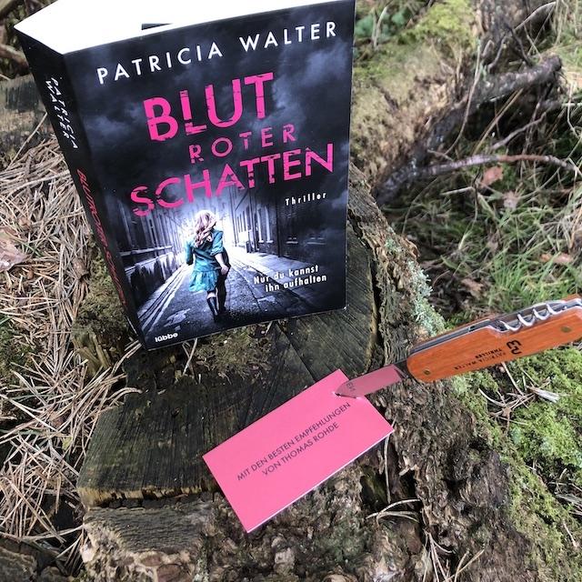 Blotroter Schatten von Patricia Walter Unboxing