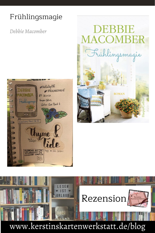 Frühlingsmagie von Debbie Macomber Sketchnote und Rezension zum Ebook von Kerstin Cornils