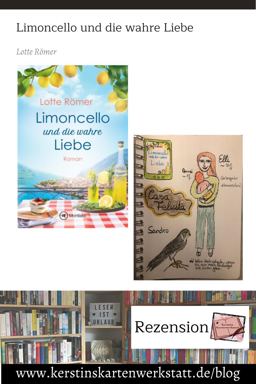 Limoncello und die wahre Liebe von Lotte Römer Sketchnote und Rezension zum Buch von Kerstin Cornils