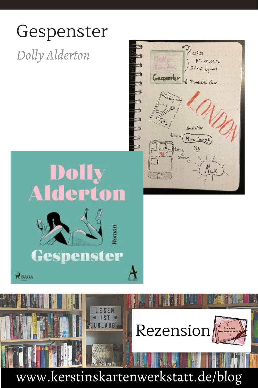 Gespenster von Dolly Alderton Sketchnotes zum Hörbuch