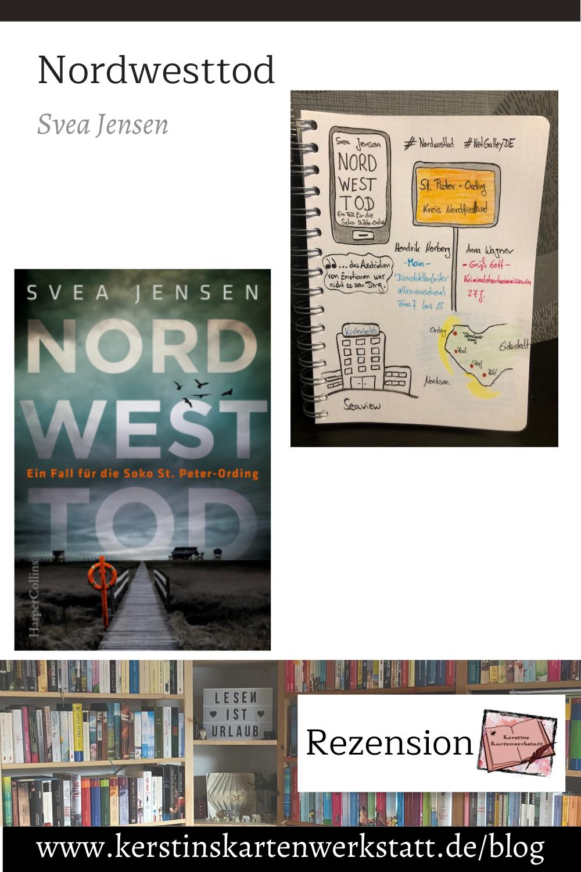 Nordwesttod von Svea Jensen Sketchnotes zum Buch