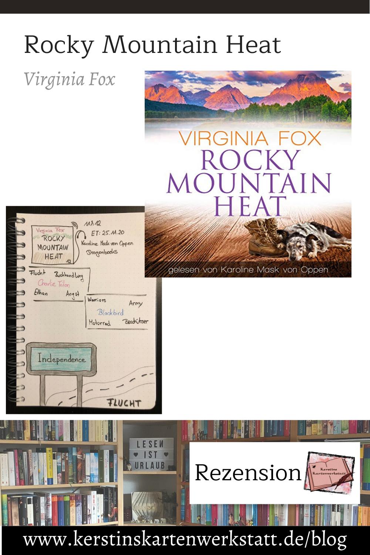 Rocky Mountain Heat von Virginia Fox Sketchnotes zum Hörbuch