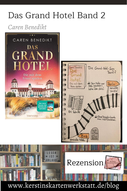 Das Grand Hotel von Caren Benedikt Sketchnotes zum Buch