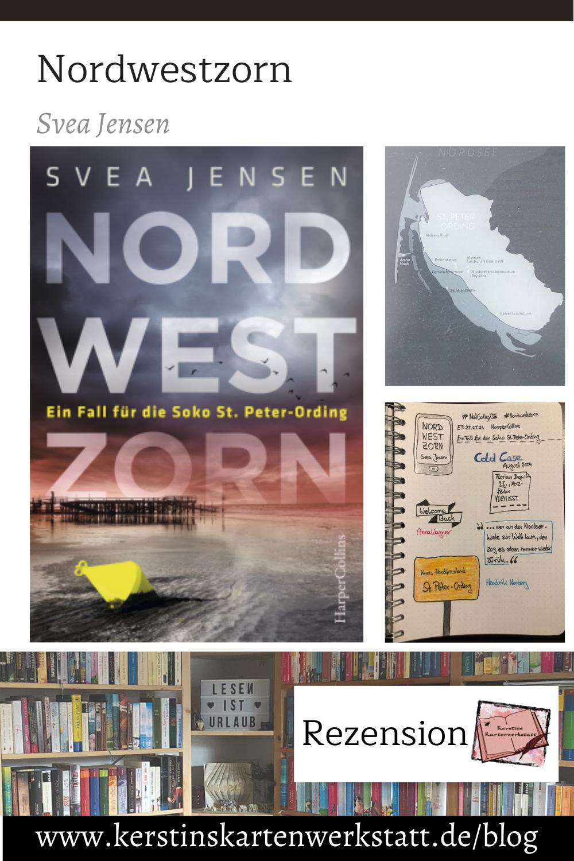 Nordwestzorn von Svea Jensen Sketchnotes und Rezension zum Buch